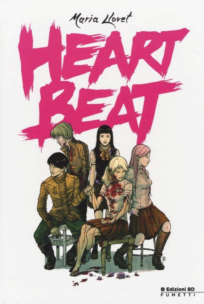 Heartbeat, copertina di Maria Llovet
