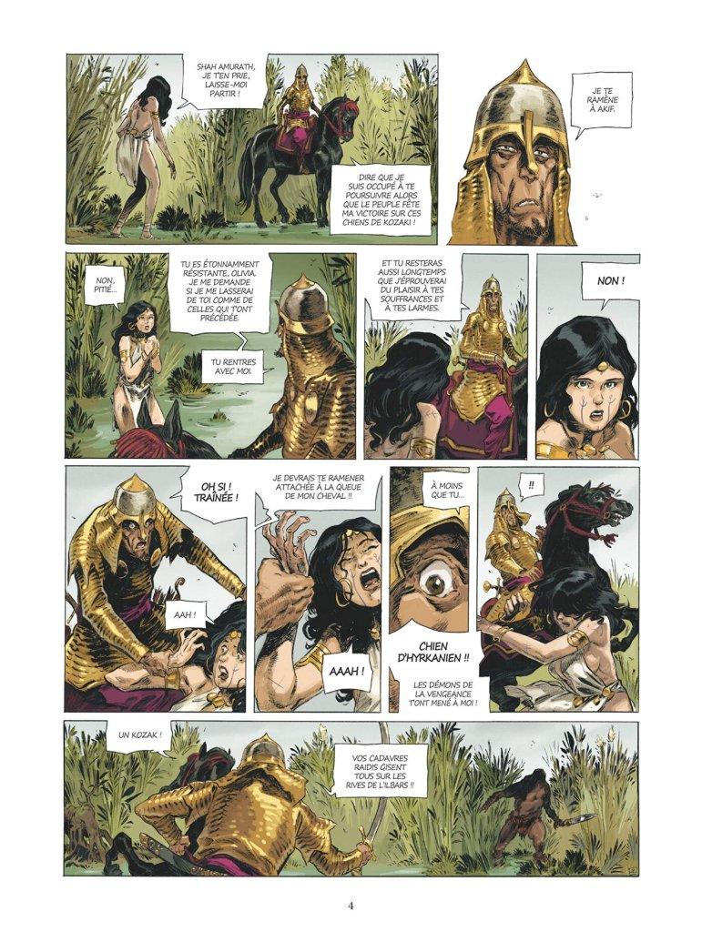 Conan le Cimmérien # 6: Chimères de fer dans la clarté lunaire, anteprima 04
