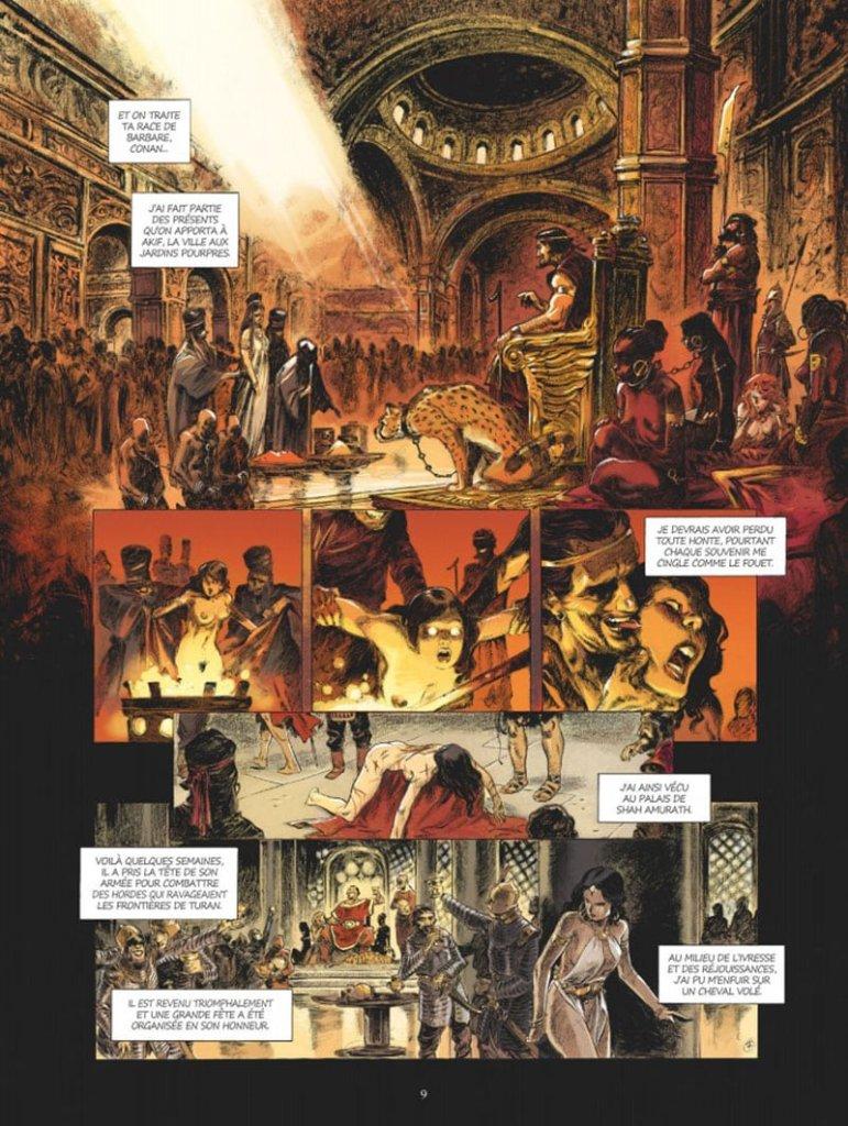 Conan le Cimmérien # 6: Chimères de fer dans la clarté lunaire, anteprima 02