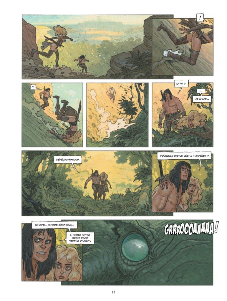 Conan il Cimmero vol. 7: Chiodi rossi, anteprima 05