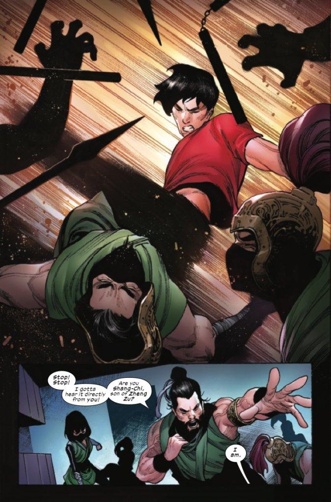Shang-Chi #1, anteprima 05