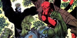 Savage Dragon Hellboy