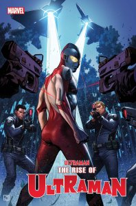 The Rise of Ultraman #2, variant cover di Jorge Molina