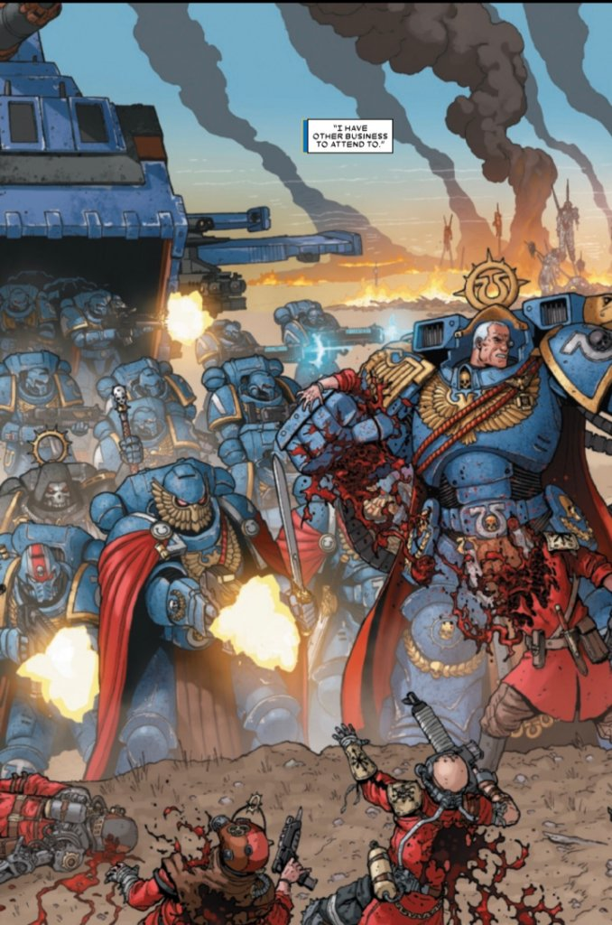 Warhammer 40,000: Marneus Calgar #1, anteprima 03
