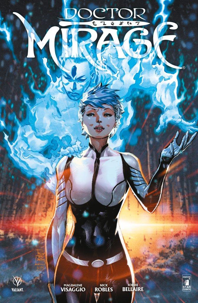 Doctor Mirage, copertina di Philip Tan