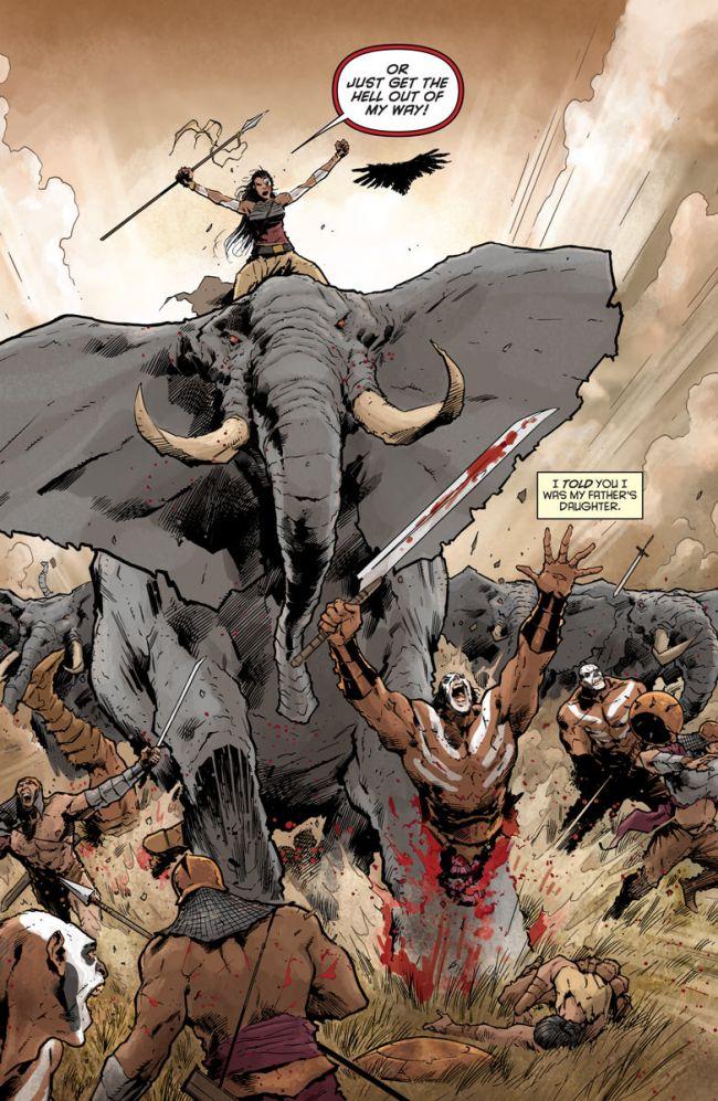 Eternal Warrior #1, anteprima 04