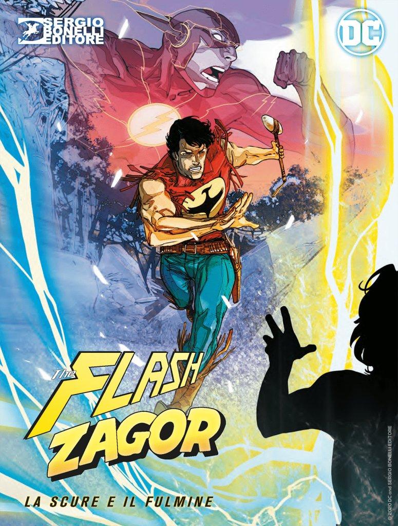 Flash/Zagor 0, copertina A di Carmine Di Giandomenico