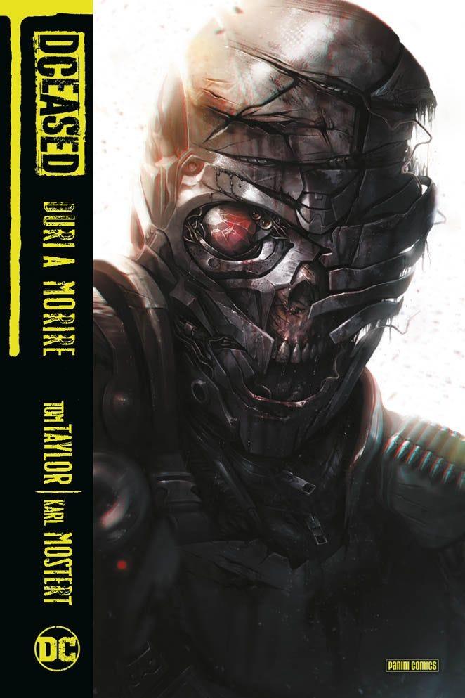 DCeased: Duri a morire, copertina di Francesco Mattina