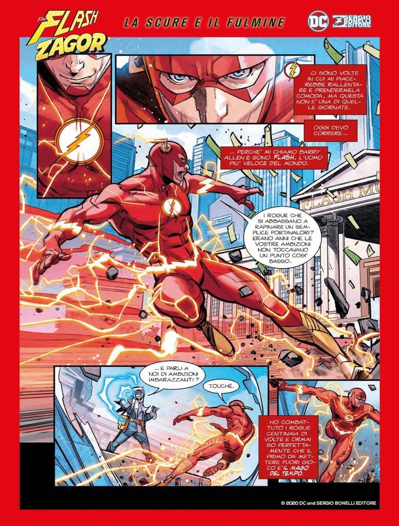 Flash/Zagor: La scure e il fulmine, anteprima 02