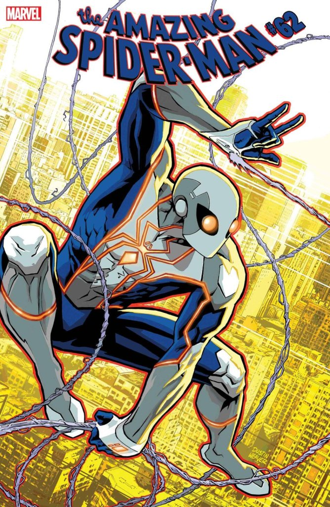 Amazing Spider-Man #62, variant cover di Dustin Weaver