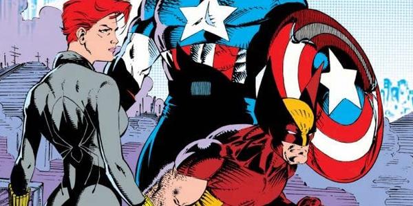 Vedova Nera e Wolverine