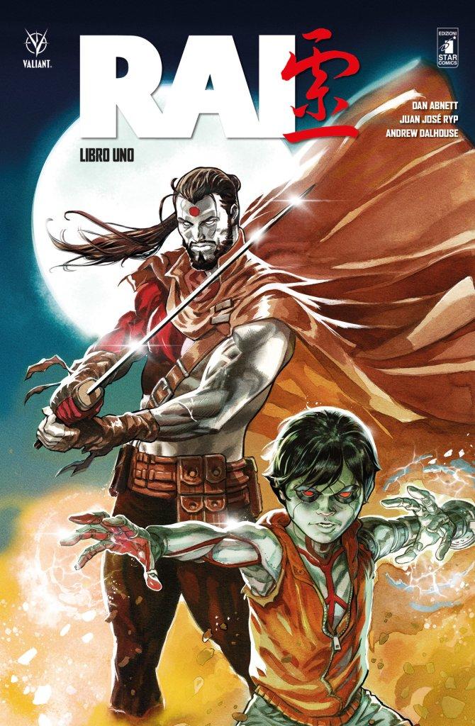 Rai - Libro Uno, copertina di Fernando Dagnino