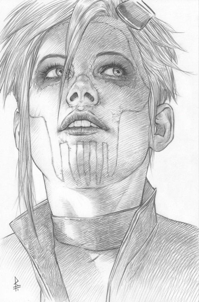 Robin #1, variant cover di Riccardo Federici