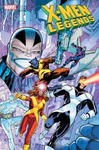 X-Men Legends #3, copertina di Walter Simonson