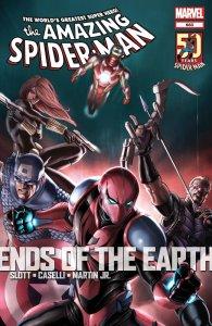 Amazing Spider-Man #683, copertina di Stefano Caselli
