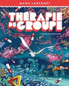 Thérapie de groupe, copertina di Manu Larcenet