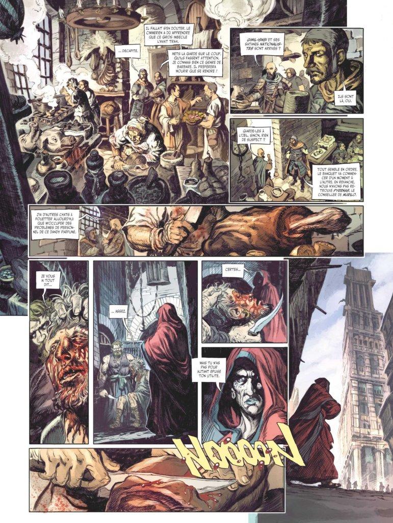 Conan le Cimmérien: La maison aux trois bandits, anteprima 03