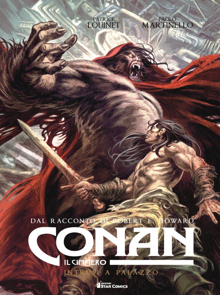 Conan il Cimmero vol. 8: Intrusi a palazzo, copertina di Paolo Martinello