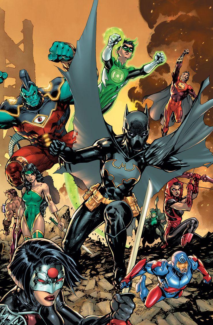 DC Festival Of Heroes: The Asian Superhero Celebration #1, copertina di Jim Lee