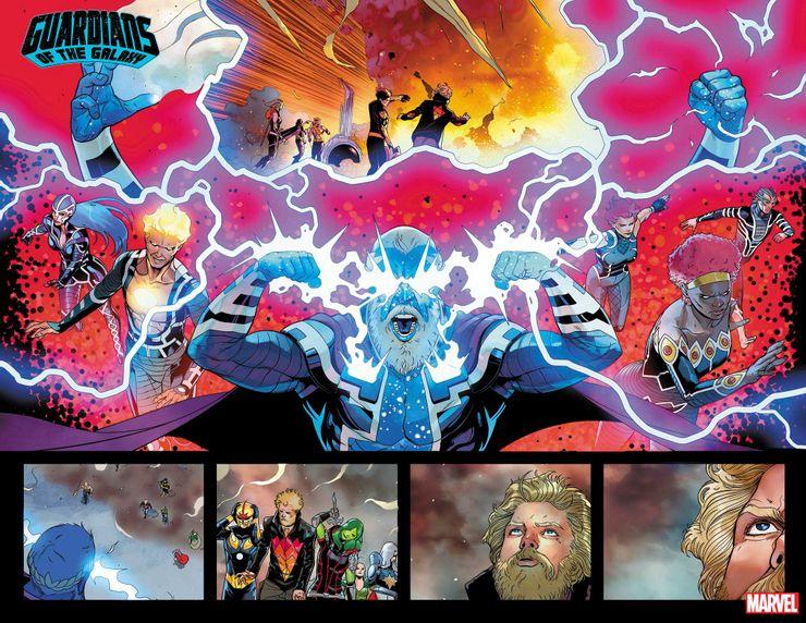 Guardiani della Galassia #11, anteprima 01