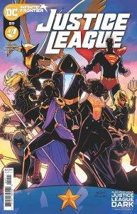 Justice League #59, copertina di David Marquez