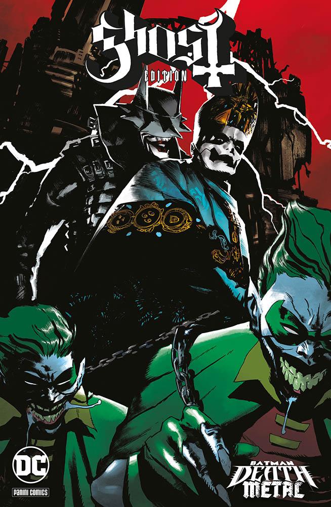 Batman: Death Metal 2, variant Ghost di Werther Dell'Edera