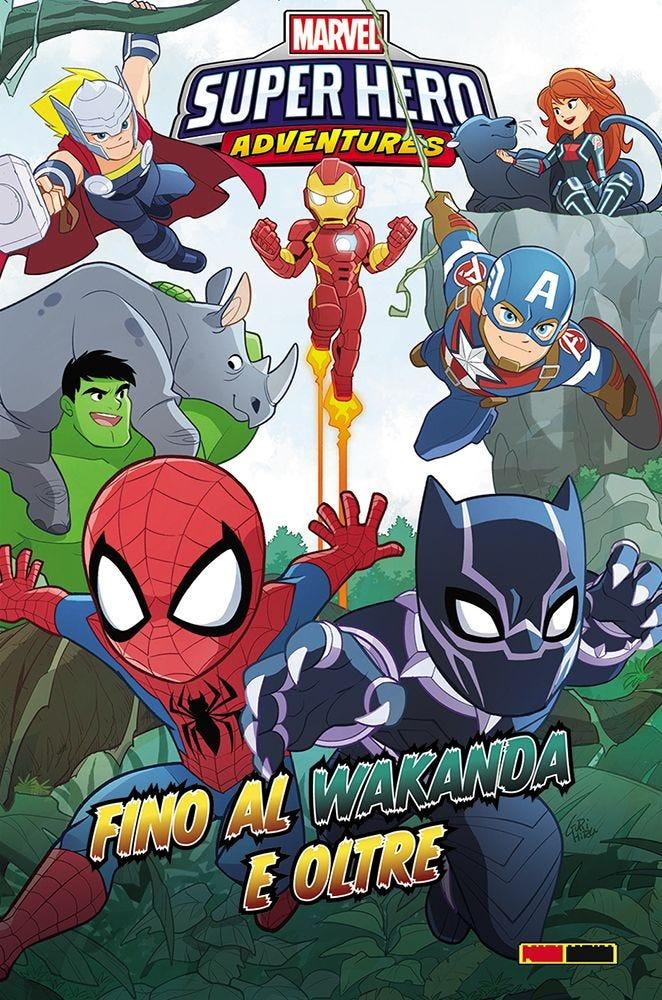 Marvel Super Hero Adventures: Oltre il Wakanda e oltre, copertina di Gurihiru