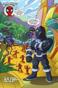 Marvel Super Hero Adventures: Spider-Man and the Stolen Vibranium #1, anteprima 01