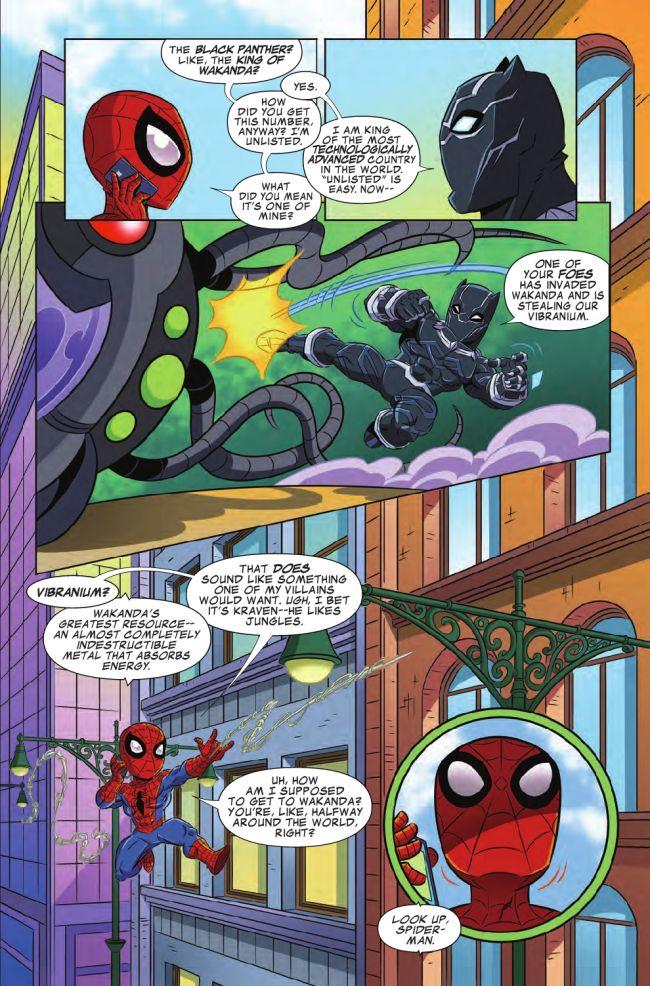 Marvel Super Hero Adventures: Spider-Man and the Stolen Vibranium #1, anteprima 02