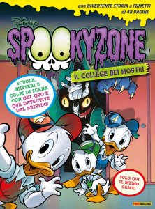 Spookyzone 1, copertina