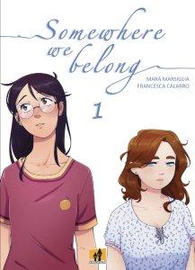 Somewhere We Belong 1, copertina di Francesca Calabro