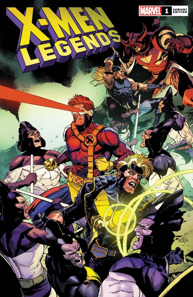 X-Men Legends #1, variant cover di Leinil Francis Yu