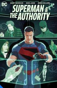 Superman & The Authority #1, copertina di Mikel Janin