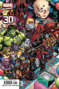Deadpool Nerdy 30 #1, copertina di Ed McGuinness