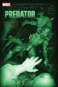 Predator #1, variant cover di Rahzzah
