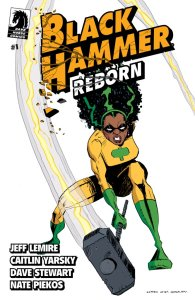 Black Hammer: Reborn #1, variant cover di Dean Ormston