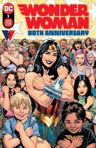 Wonder Woman 80th Anniversary 100-Page Spectacular, copertina di Yanick Paquette