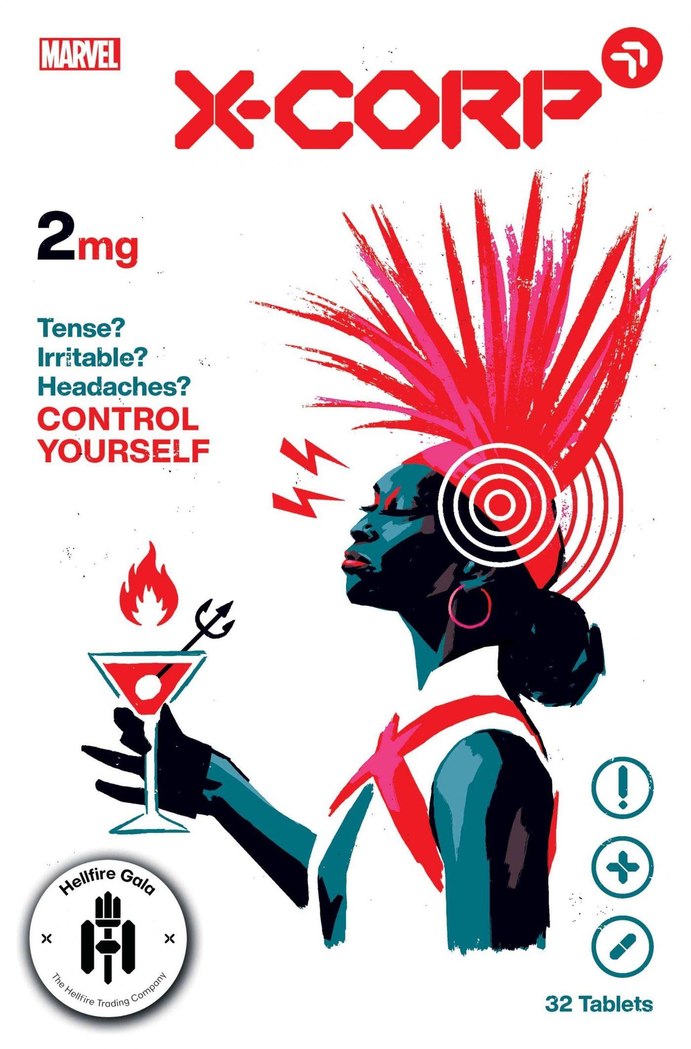X-Corp #2, copertina di David Aja