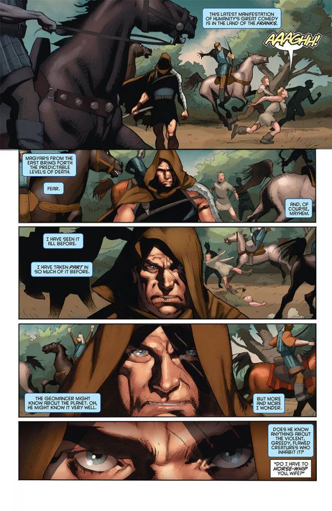 Eternal Warrior: Days of Steel #1, anteprima 02