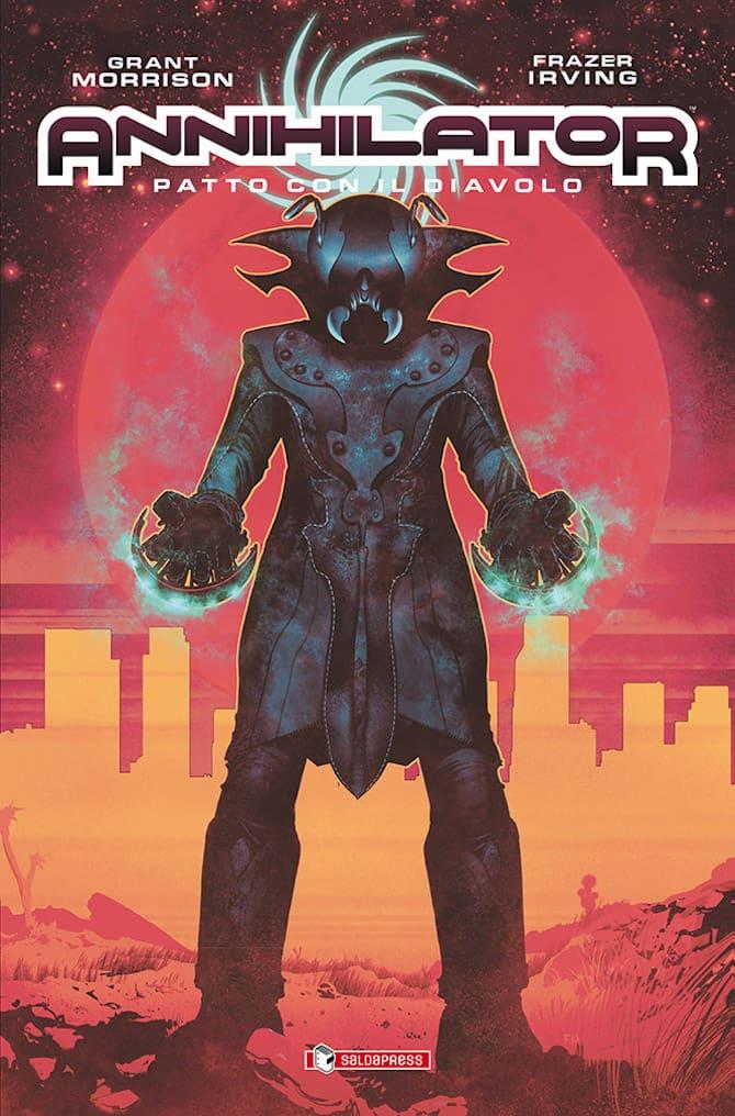 Annihilator: Patto con il diavolo, copertina di Frazer Irving