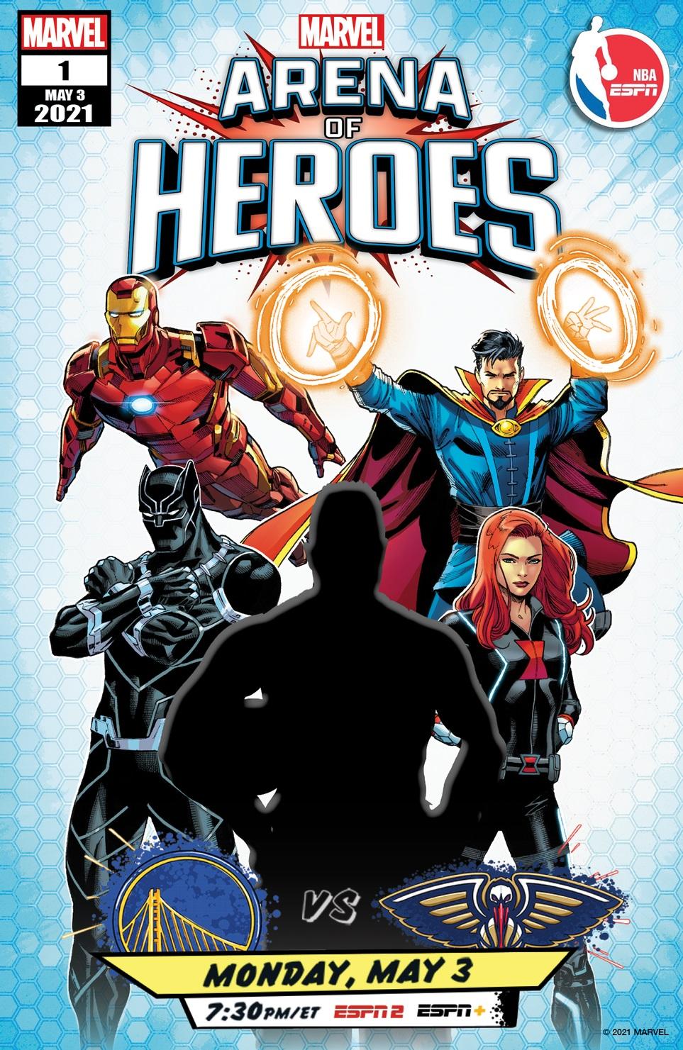 Marvel's Arena of Heroes, illustrazione
