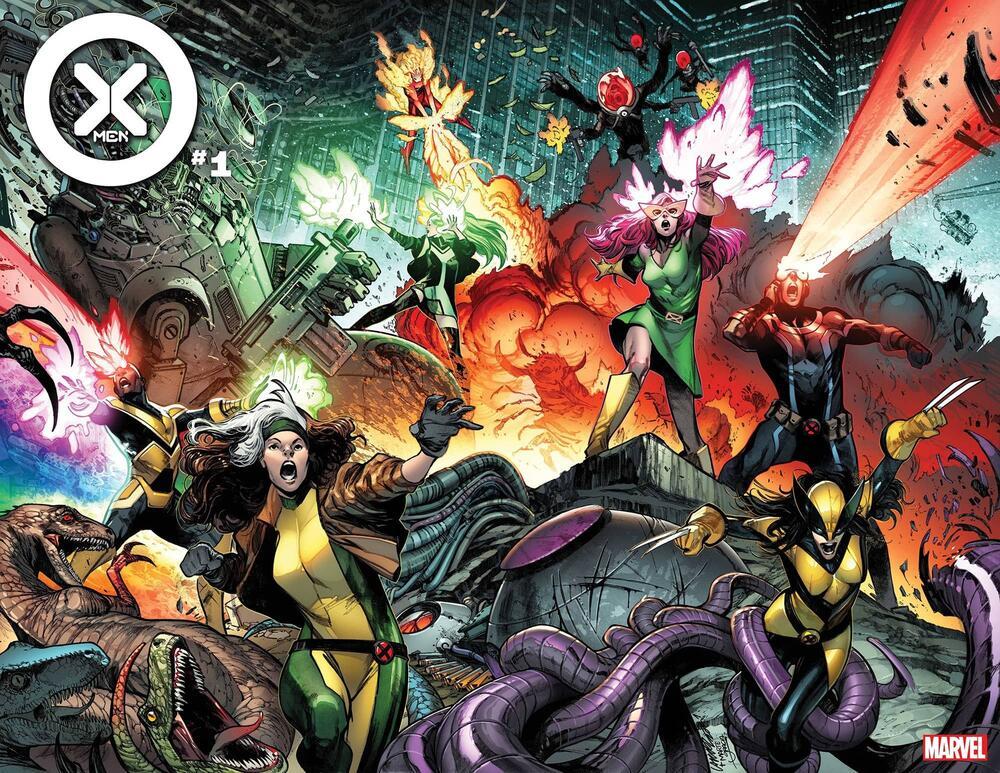 X-Men #1, copertina di Pepe Larraz