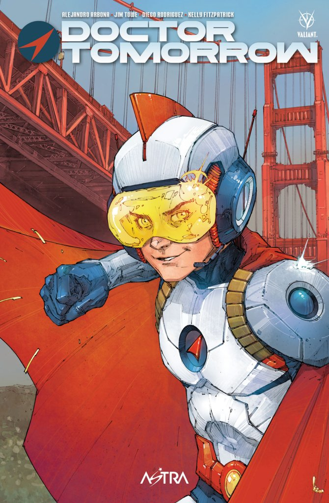 Doctor Tomorrow, copertina di Kenneth Rocafort