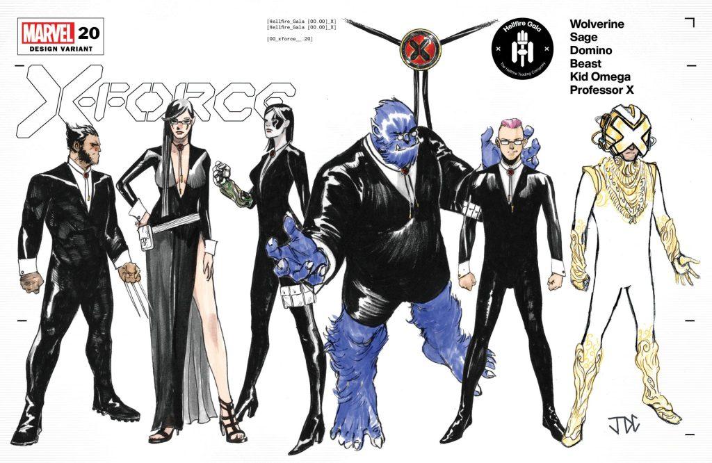 X-Force #20, variant cover di Joshua Cassara
