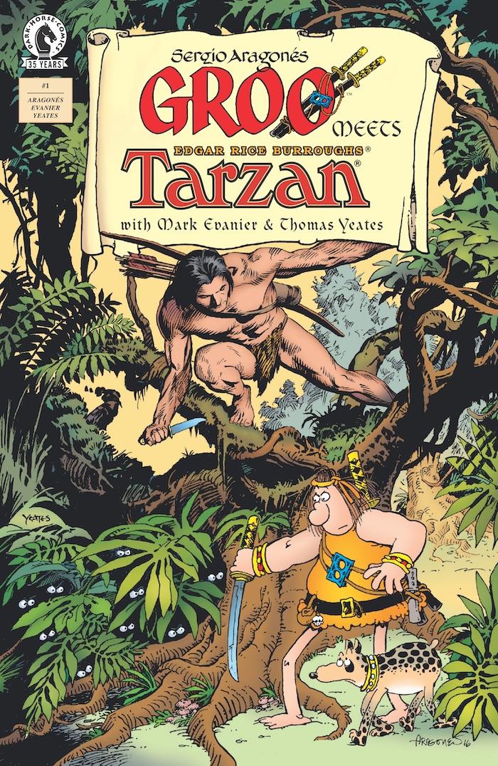 Groot meets Tarzan, copertina