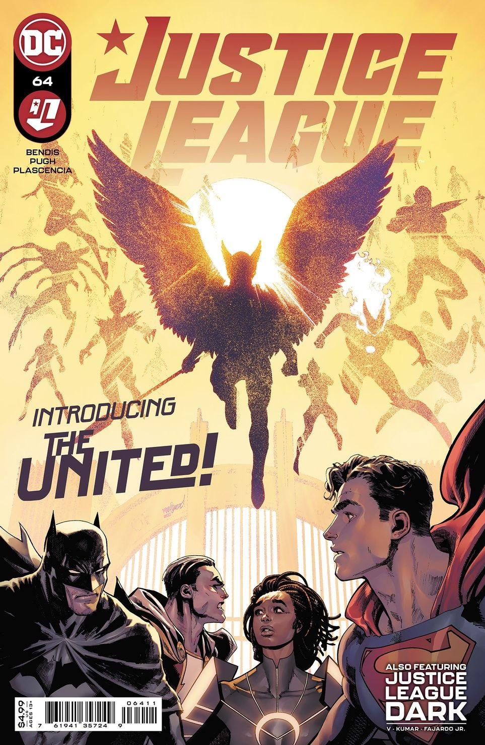 Justice League #64, copertina di David Marquez