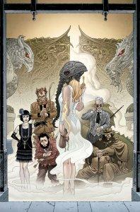 Locke & Key/TheSandman Universe: Hell & Gone, copertina di Gabriel Rodriguez