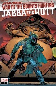 Star Wars: War of the Bounty Hunters - Jabba the Hutt #1, copertina di Mahmud Asrar