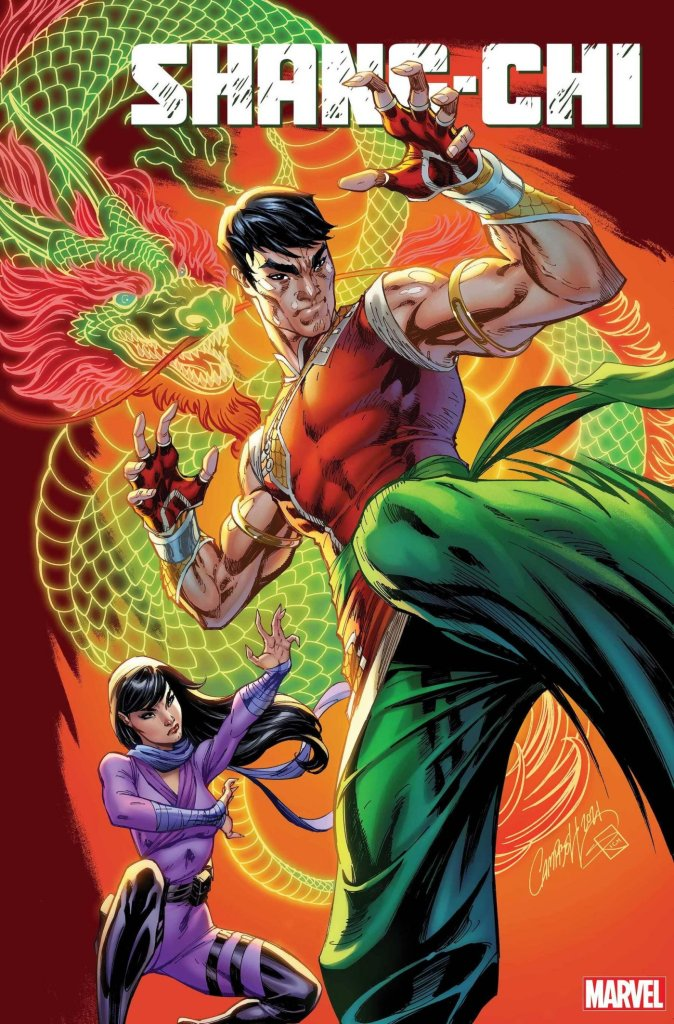 Shang-Chi #1, variant cover di J. Scott Campbell