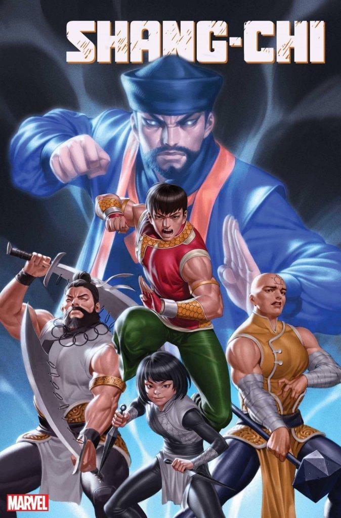 Shang-Chi #1, variant cover di Junggeun Yoon